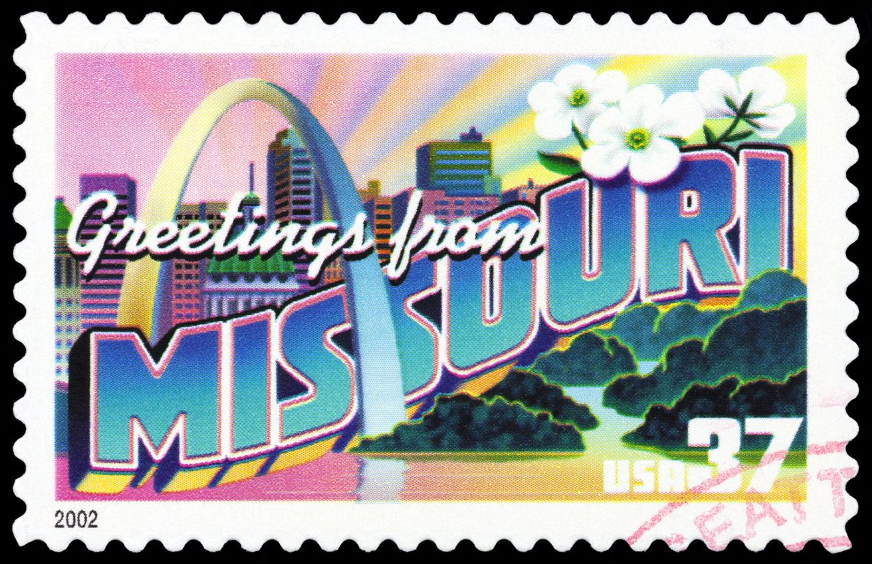 State Spotlight Missouri Usa stamps, Commemorative