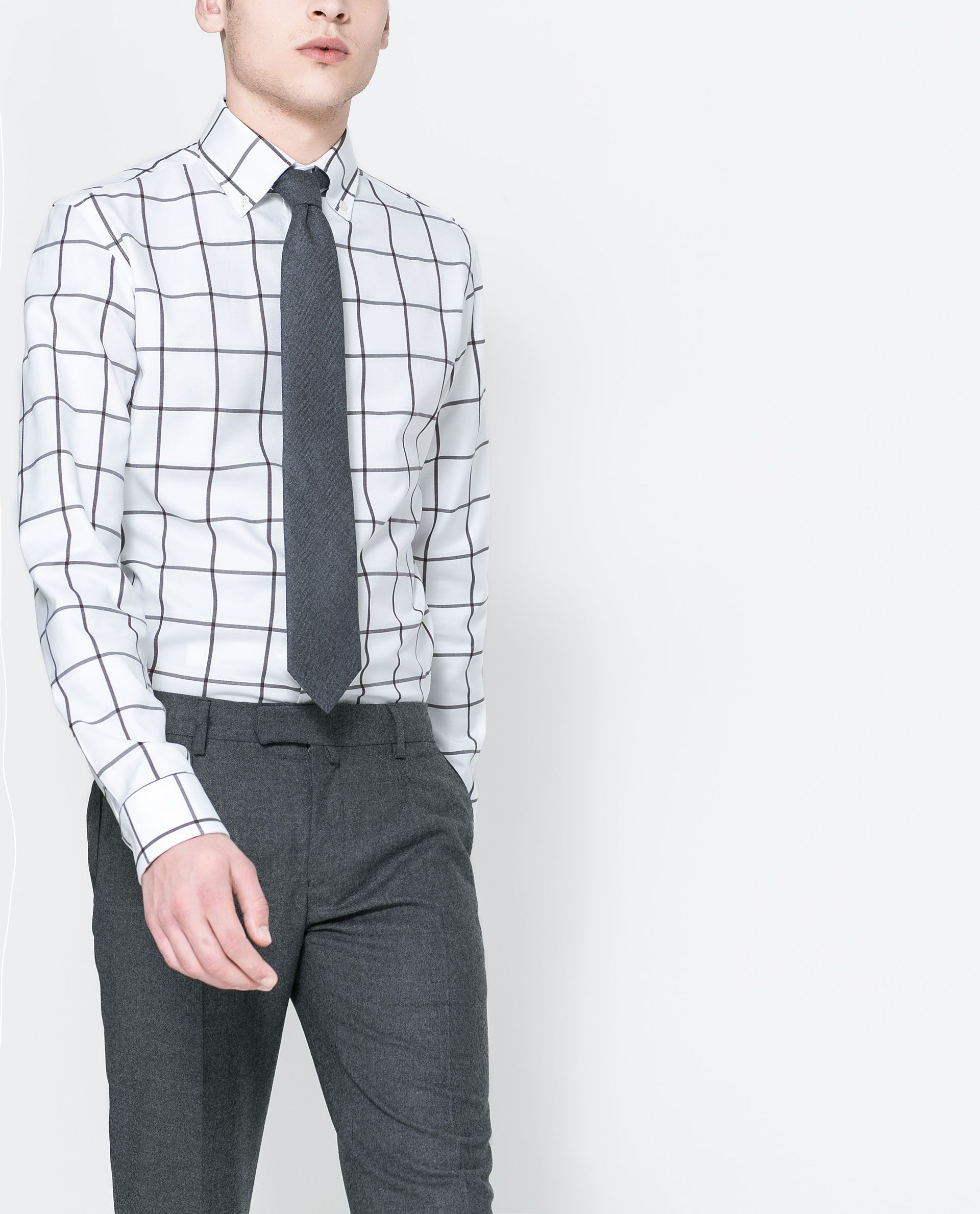 LARGE CHECKED SHIRT - Shirts - MAN | ZARA Germany