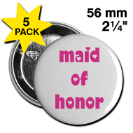 #WEDDING Large Buttons