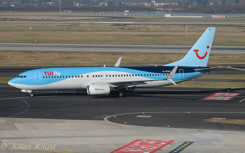 Tuifly / D-ATUC / Boeing 737-800
