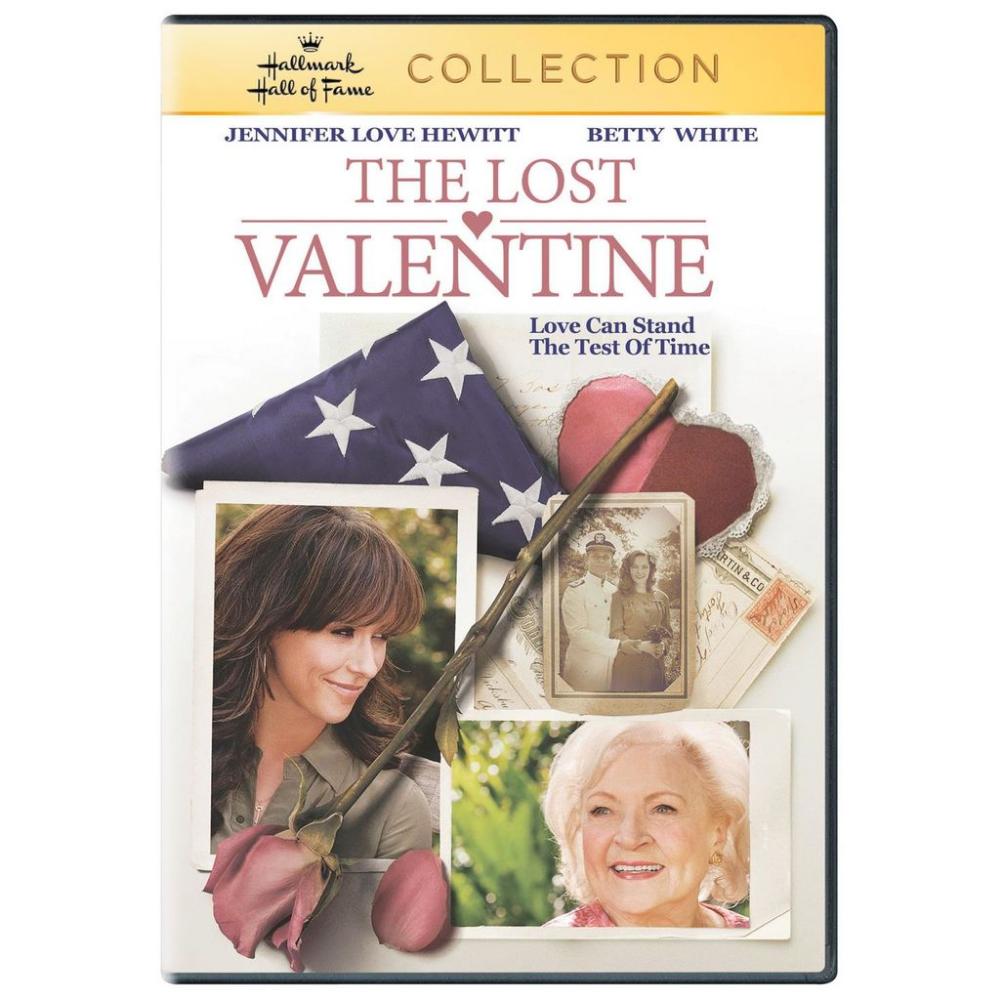 The Lost Valentine Hallmark Hall Of Fame Hallmark Valentines Movies Betty White Jennifer Love Hewitt