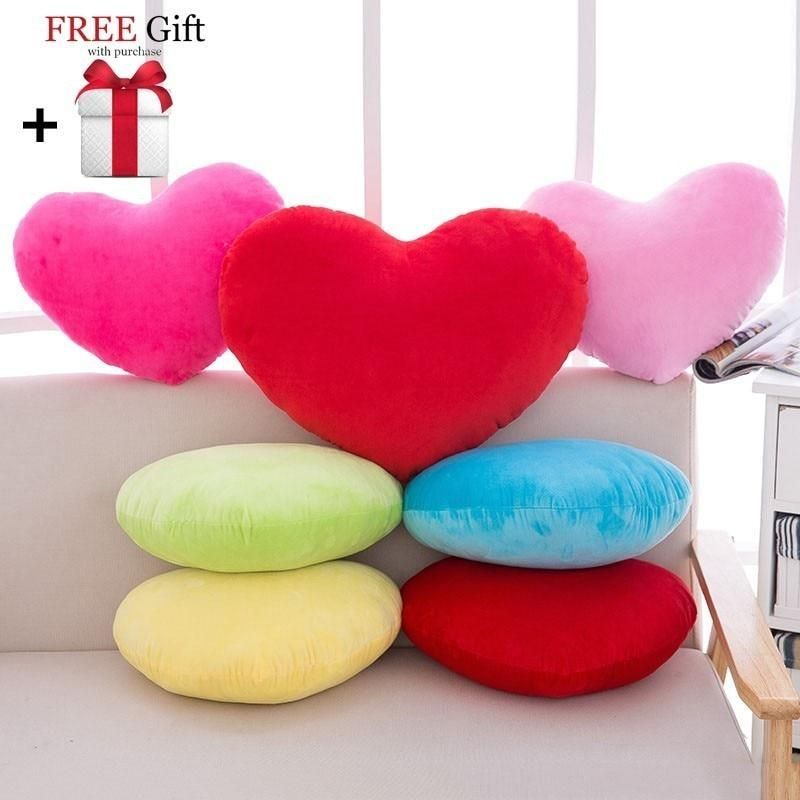Coussin Decoratif Cushion Heart Shaped Throw Pillow Kids Room Decor Valentines Gift Plush Cojines Decorativos P In 2020 Kids Throw Pillows Kid Room Decor Throw Pillows