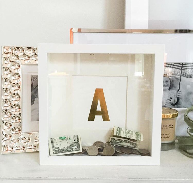 Monogrammed Bank at IKEA | Art Attack | Pinterest | Spardose ...