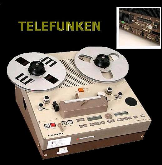 TELEFUNKEN M21 | hi end | Tape recorder, Recording equipment