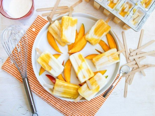 Mango Lassi Ice Pop | 24 Guilt-Free Ice Pops That Will Make You Go Ahhhh