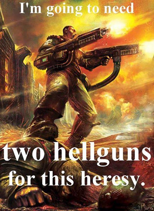 Isn't that EVERY heresy? | Warhammer 40000, Warhammer 40k ...