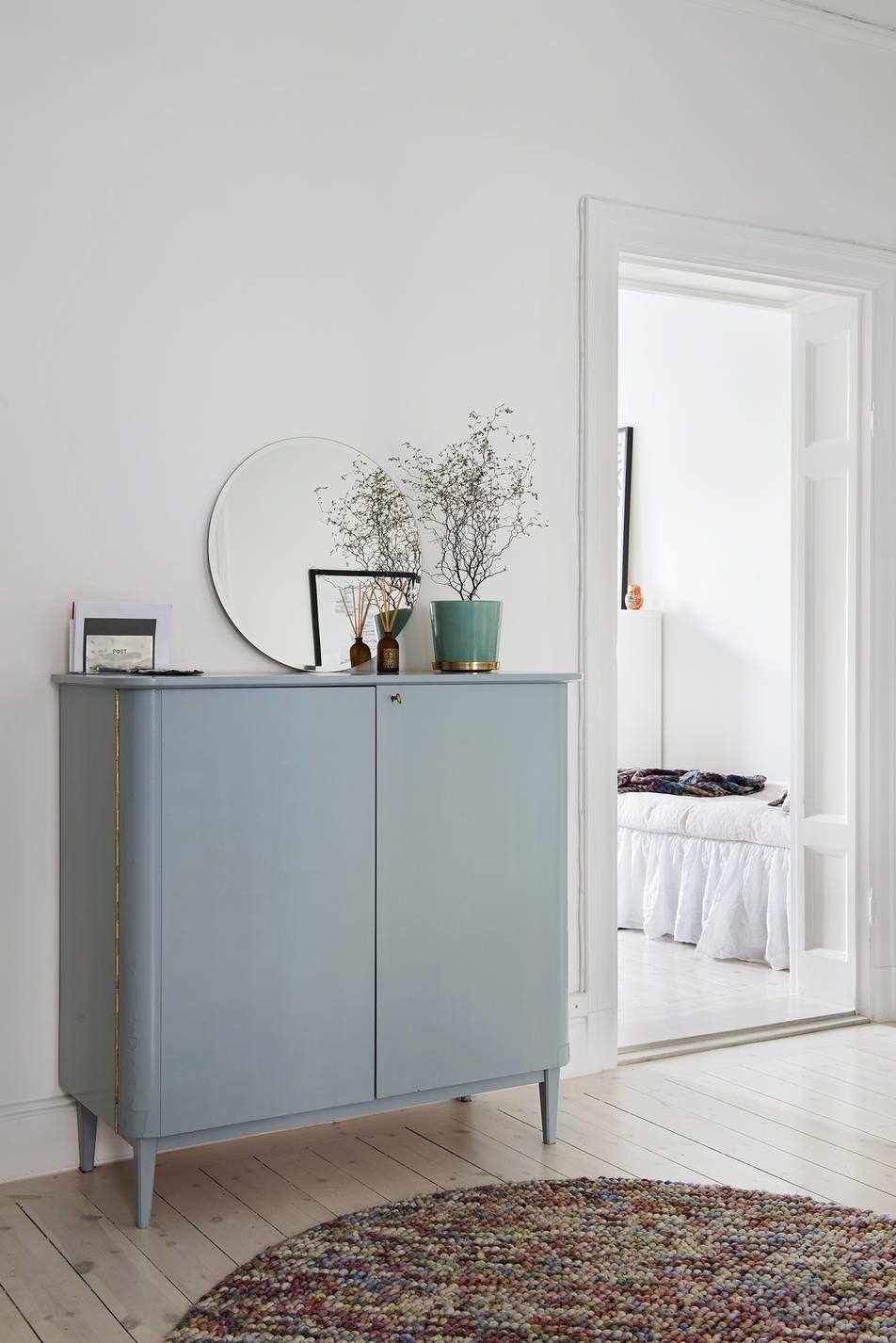 Unique Flur Grau Gallery Of Die Kommode Im In Blau-grau Streichen. #kolorat