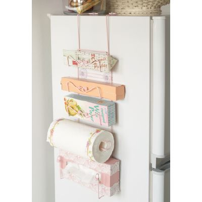 A kitchen organizer for all those things used everday to get it up off the counters in a small kitchen.