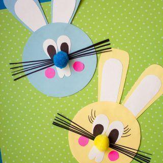 Photo of Diese einfache Osterhasen-Papierfertigkeit ist Spaß für Kinder alles Alters. D…