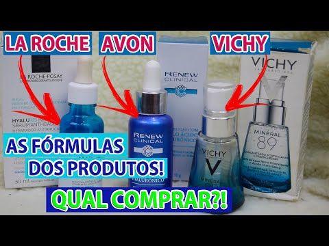 AVON Renew Ácido Hialurônico, Hyalu B5 La Roche e Mineral 89 VICHY | A FÓRMULA DELES! Qual Comprar?! - YouTube