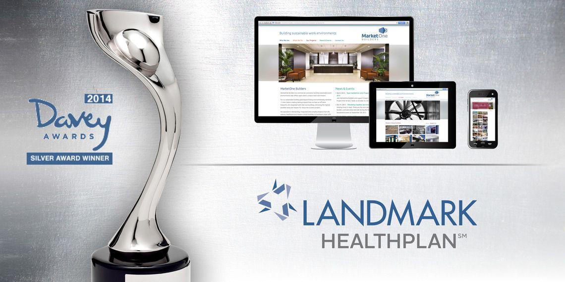 Landmark HealthPlan - Logo MarketOne Builders, Inc. - Website