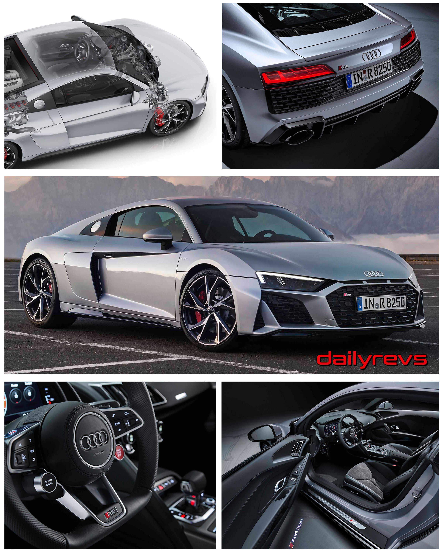 2020 Audi R8 V10 Rwd Coupe Dailyrevs Com Audi R8 V10 Audi Audi Cars