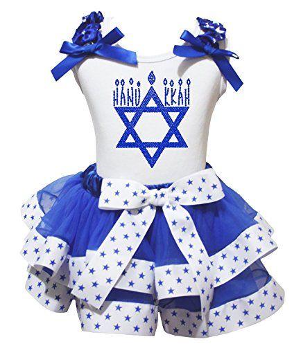 4th July Dress 3rd Star Heart Red Shirt Dot Bow White Blue Petal Skirt Set Nb-8y