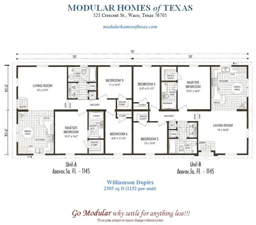 Modular Home Plans Duplex Mobile Homes Ideas Bedroom