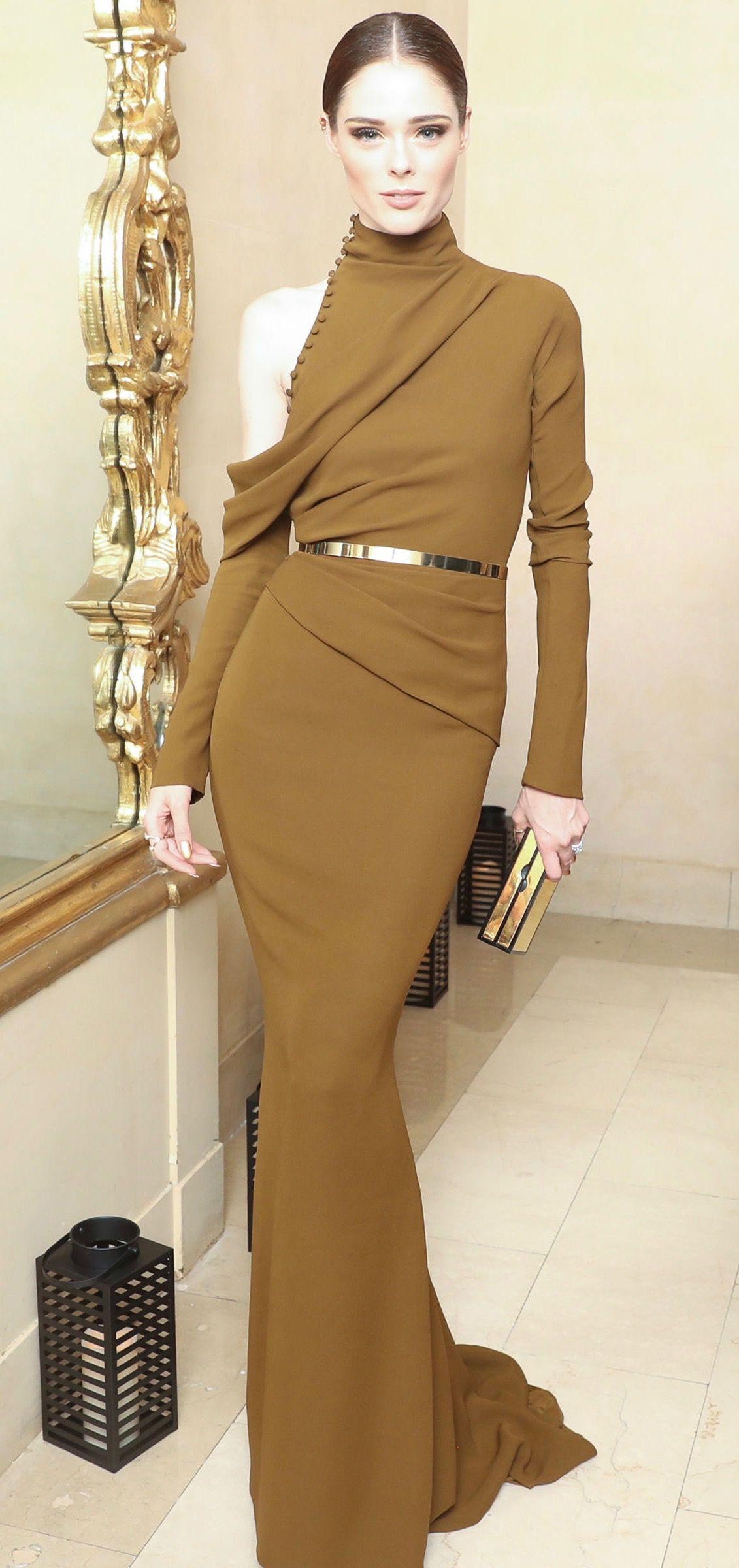 Coco Rocha in J.Mendel Couture F/W 2016/2017