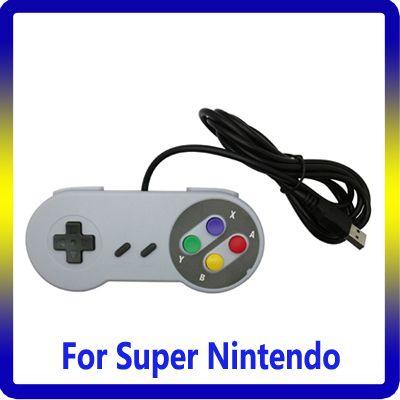 Hot selling video game&accessories For Nes game controller for NES SNES PC/USB