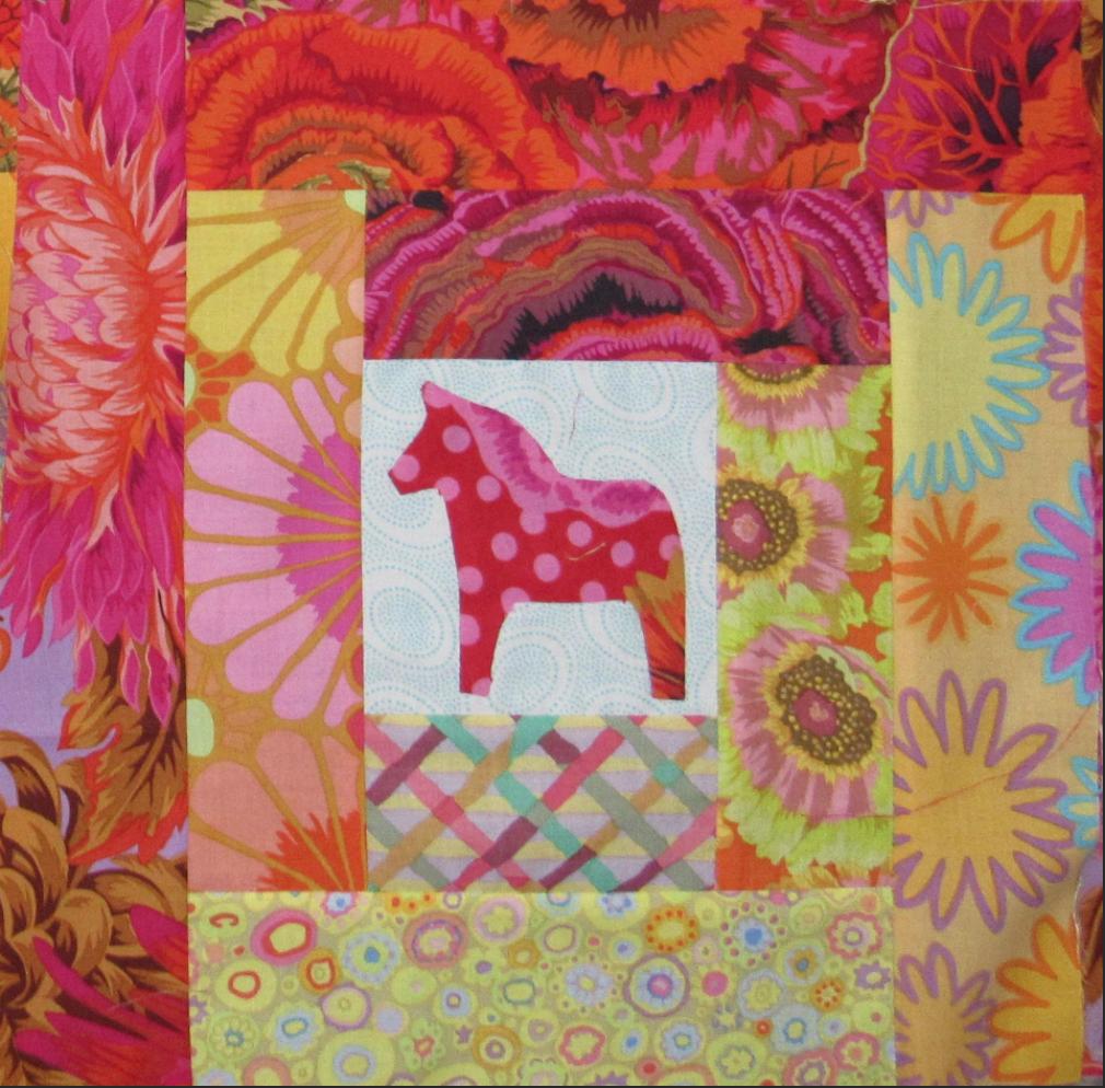 Free Quilt Pattern Swedish Dalahast Block I Sew Free Scandinavian Quilts Quilt Patterns Quilt Patterns Free