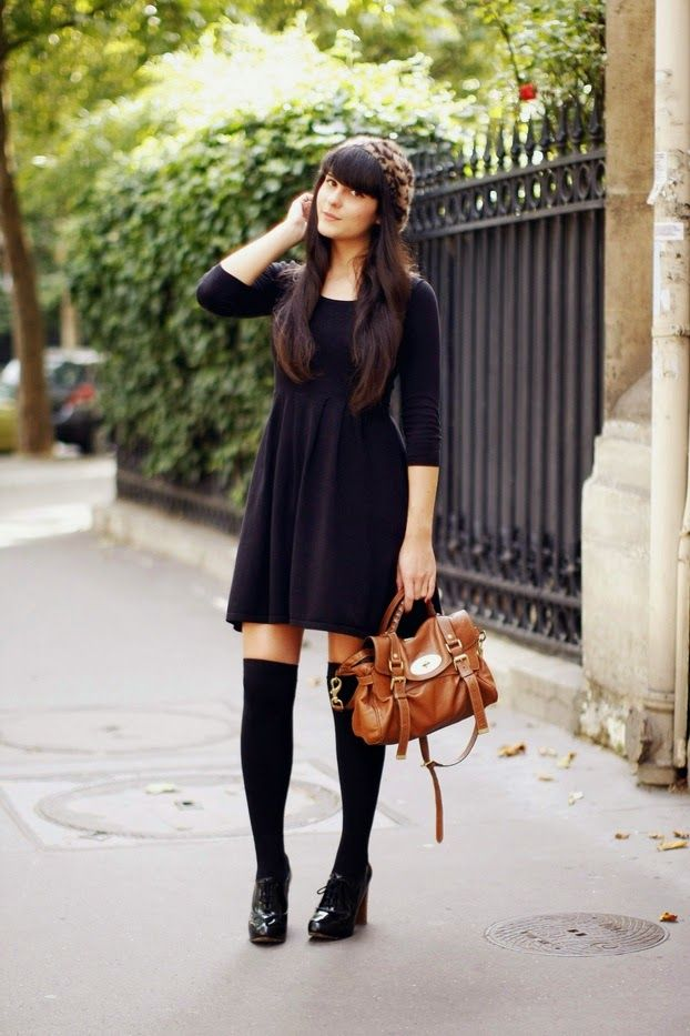 Brown dress socks with black shoes