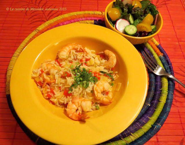 Crevettes aux jus de fruits à la mexicaine | Jus de fruit ...