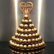 Hochzeit Ferrero Rocher Ständer Mittelstück Display Mr /& Mrs Herz Baum