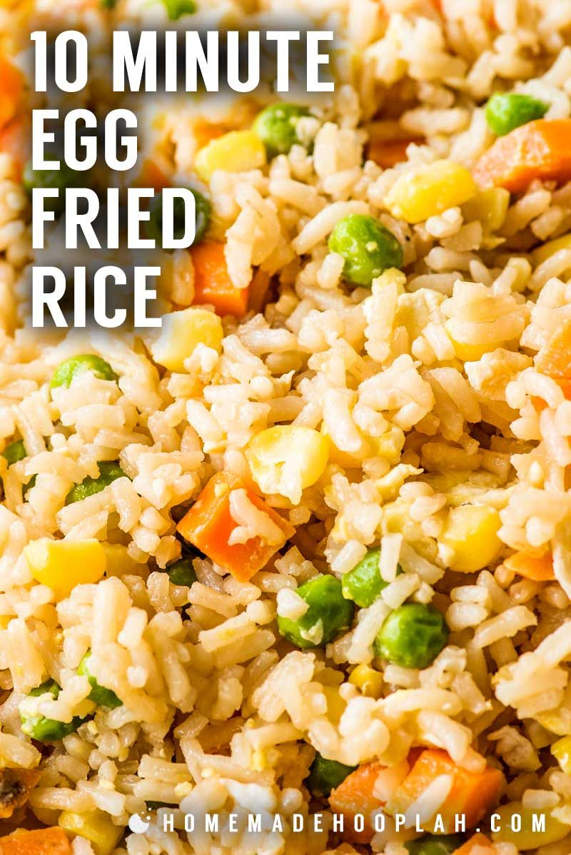 10 minute simple egg fried rice need a new go to side dish for busy 10 minute simple egg fried rice need a new go to side dish for busy weeknights making fried rice at home is always a great staple and this easy recipe ccuart Choice Image