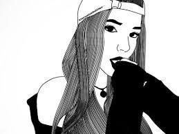 Pin En S Black White