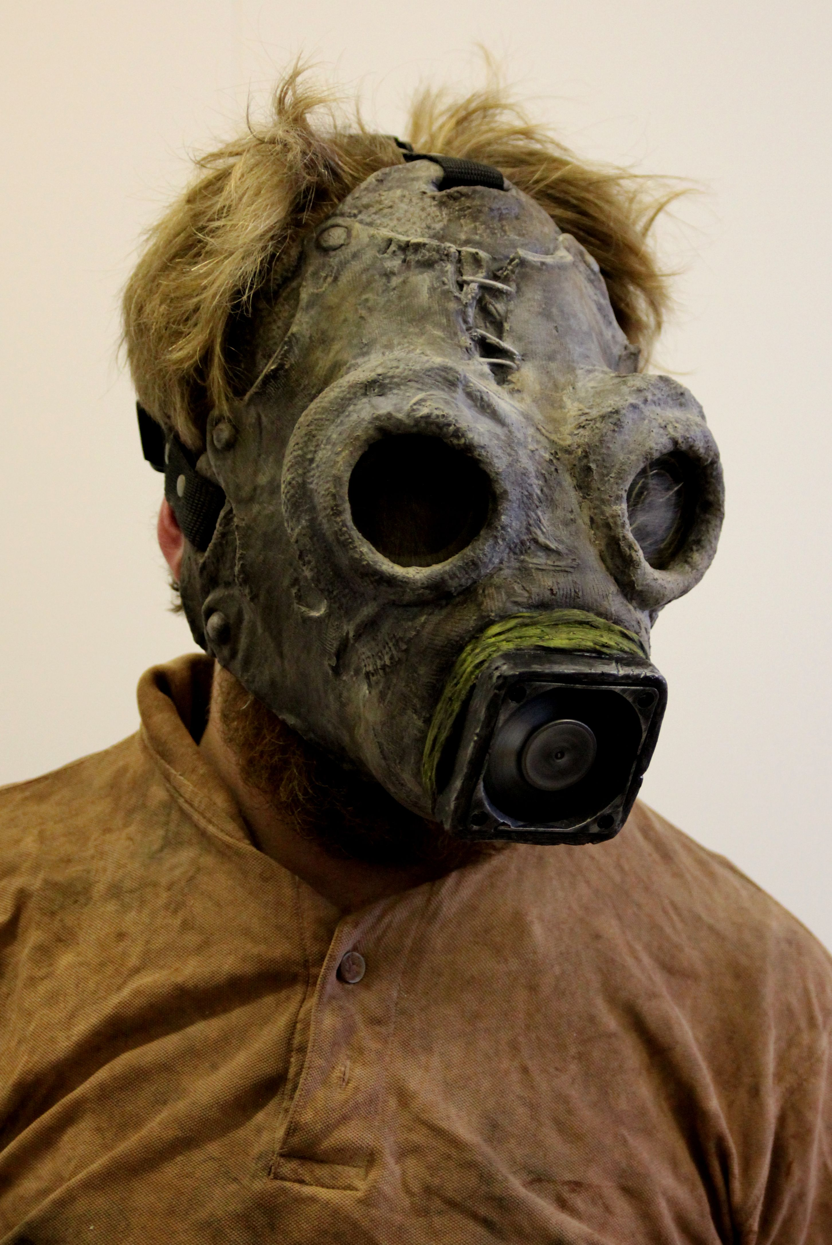 The Scavenger, post apocalypse collectible horror mask. | Gasmask ...