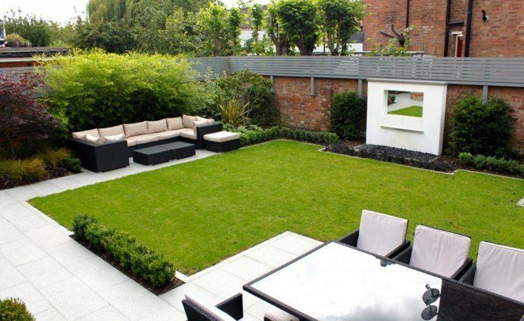Le jardin moderne - le style épuré au coeur du design ...