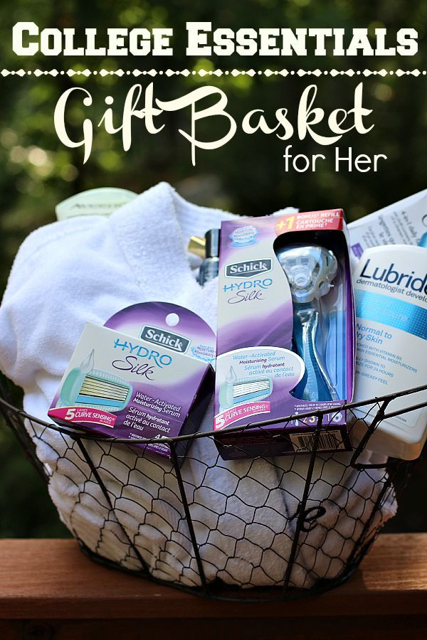Diy college essentials gift basket for her college basket ideas diy college essentials gift basket for her negle Choice Image