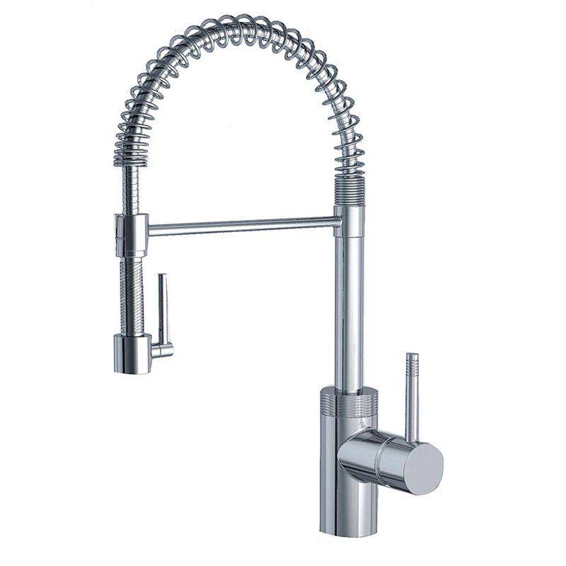 Have to have it. Aqueous Spartacus 90KVDC Single Hole Kitchen Faucet ...