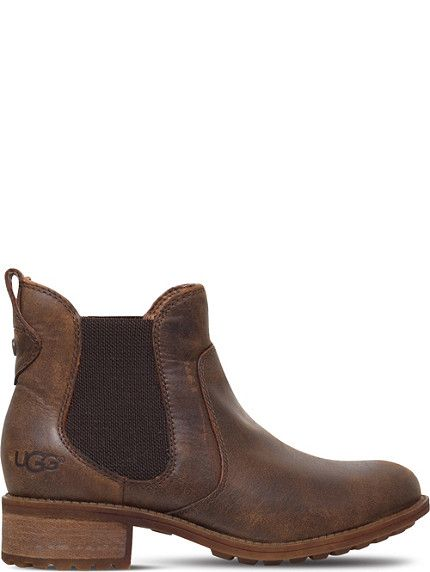 30a46f334a9 UGG Bonham leather ankle boots | New York Fashion | Ugg leather ...