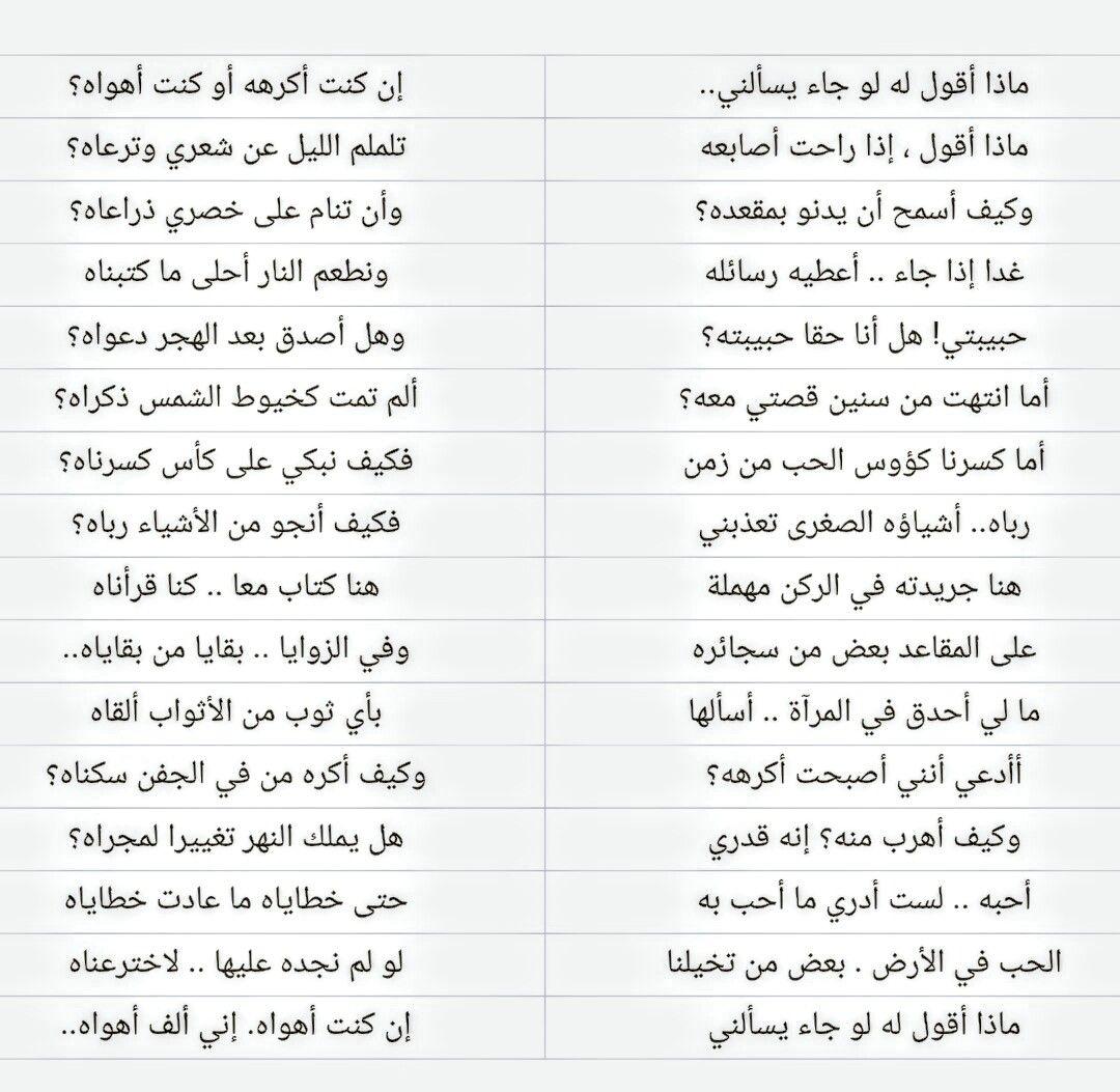 الشاعر نزار قباني Arabic Poetry Words Poems