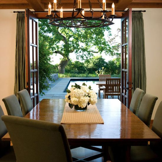 dining room french doors design pictures remodel decor and ideas curtains with french