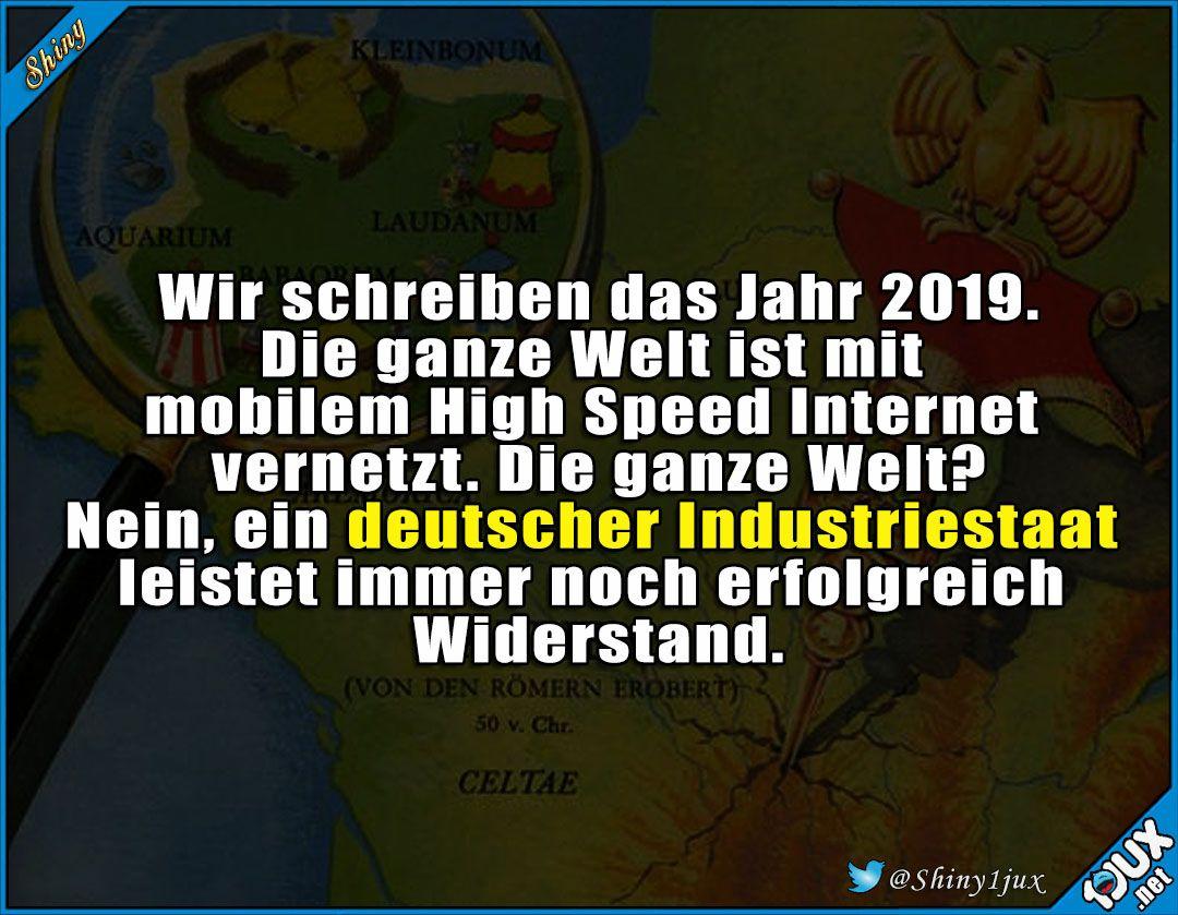 Fast Wie Gallien Deutschland Internet Geschwindigkeit