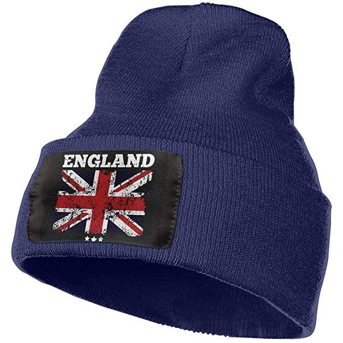 425d75bfbc1 SuFuncc Classic England Flag Union Jack British Flag Warm Winter Beanie Hat  Acrylic Knit Cuff Beanie