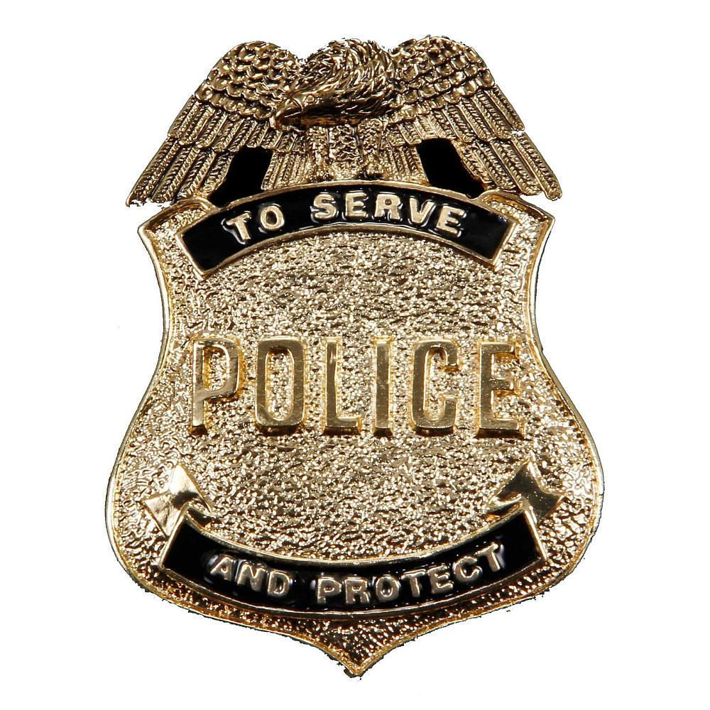 Antique Gold Police Badge Police Badge Police Badge