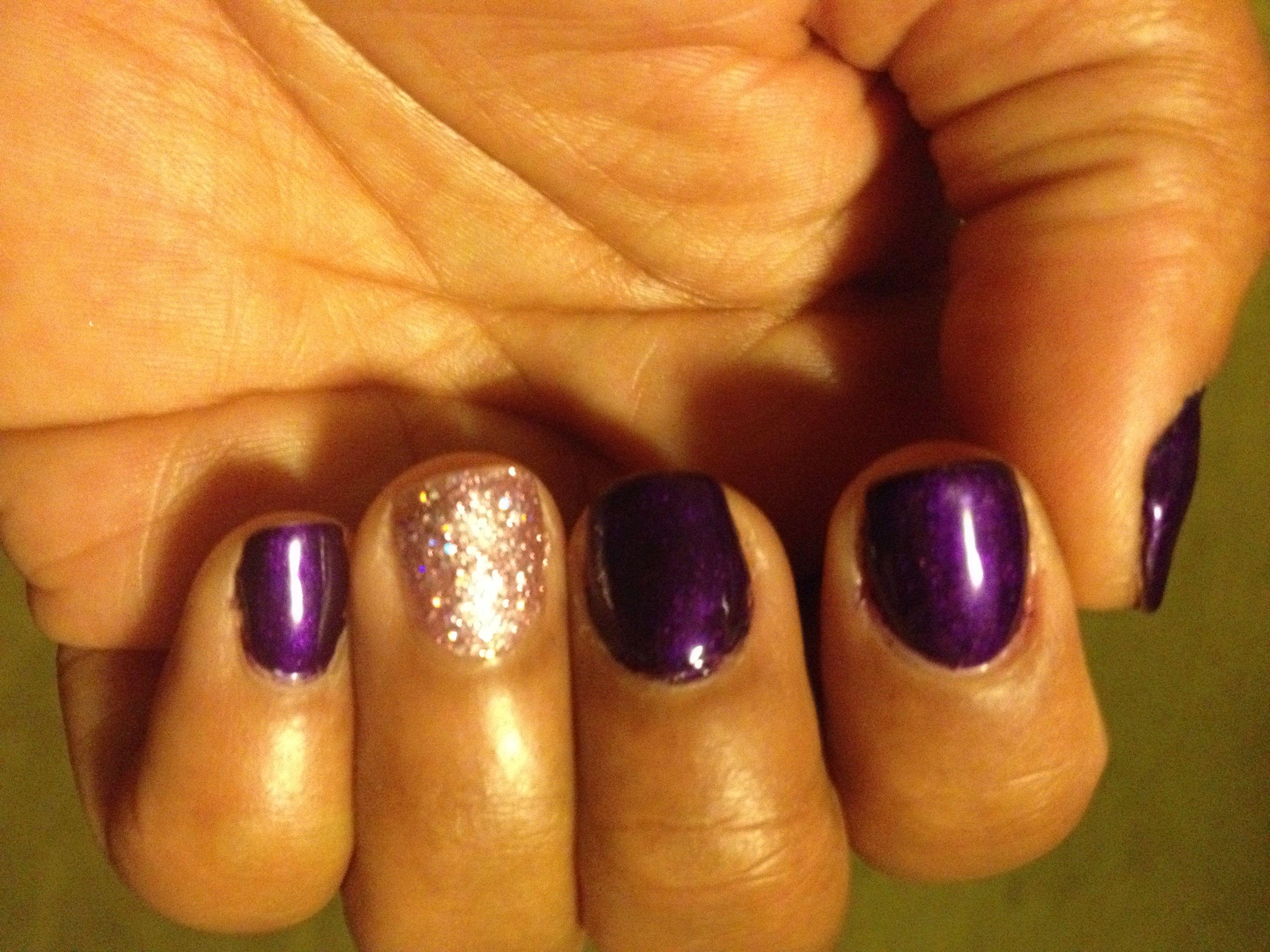 My nails... Gelish \
