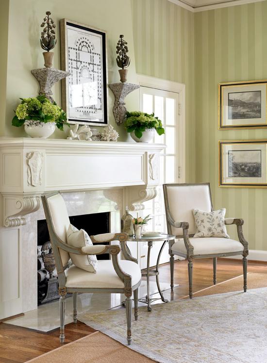 Exceptionally Pretty Carolina Home Elegant Mantel Decorating Ideas Fireplace Mantel Decor Fireplace Decor