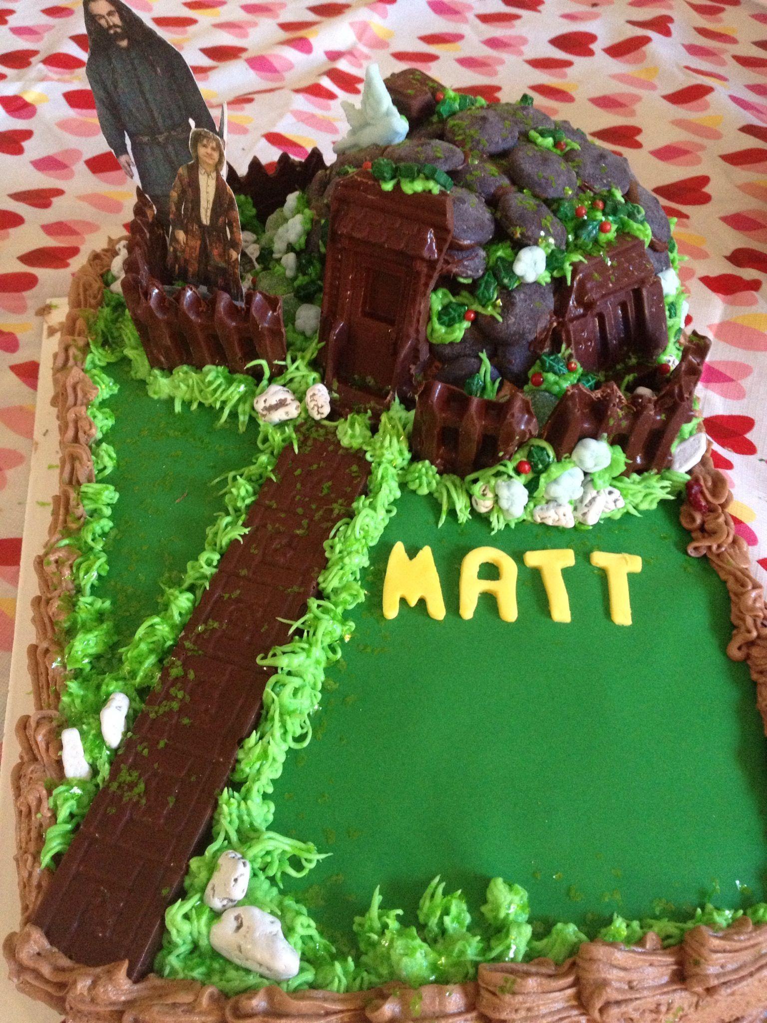Hobbit Cake Decorating Kit