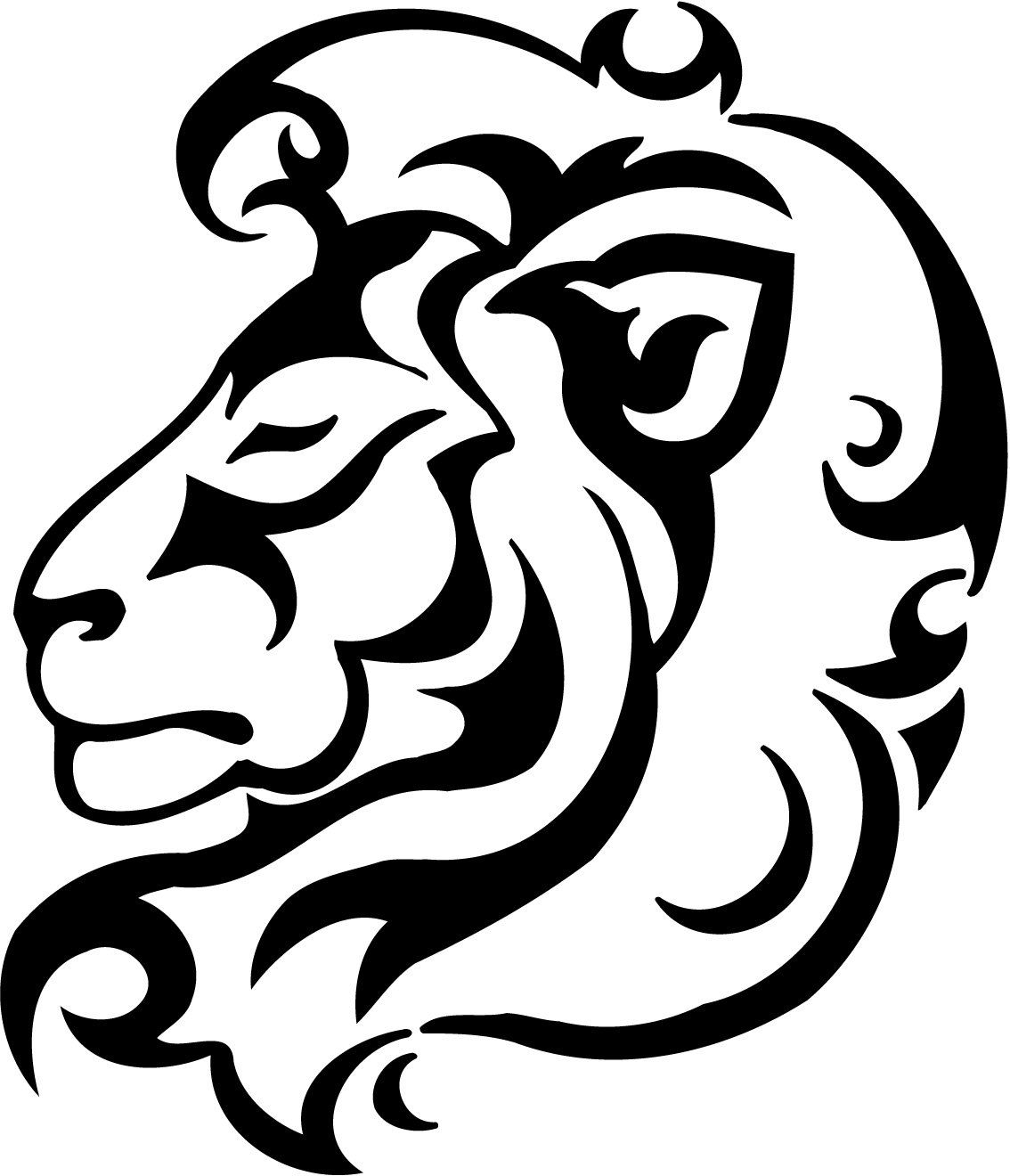 Lion Vinyl Decal By Theonecherryblossom On Etsy 4 50