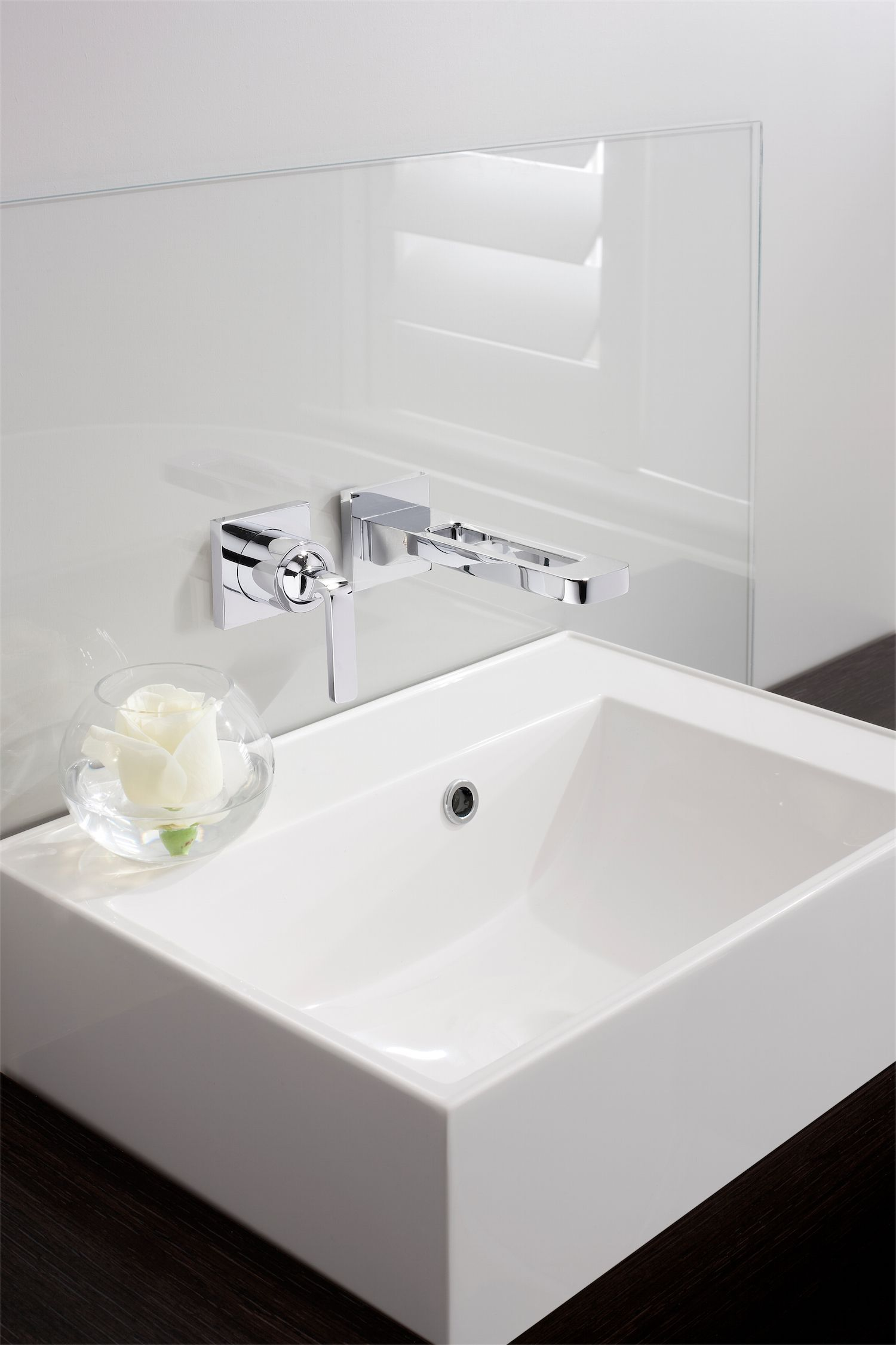 KH Zero 1 Wall Mounted Basin 2 Hole Bathroom Tap Set from Kelly Hoppen at Crosswater http://www.crosswater.co.uk/product/kelly-hoppen-mbe-bathroom-collection/basin-2-hole-set-kh01-120wnc/