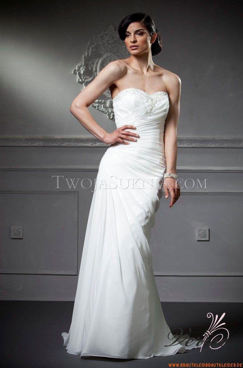 Ohne Ärmel Günstige Elegante Brautkleider aus Chiffon   brautkleider ...