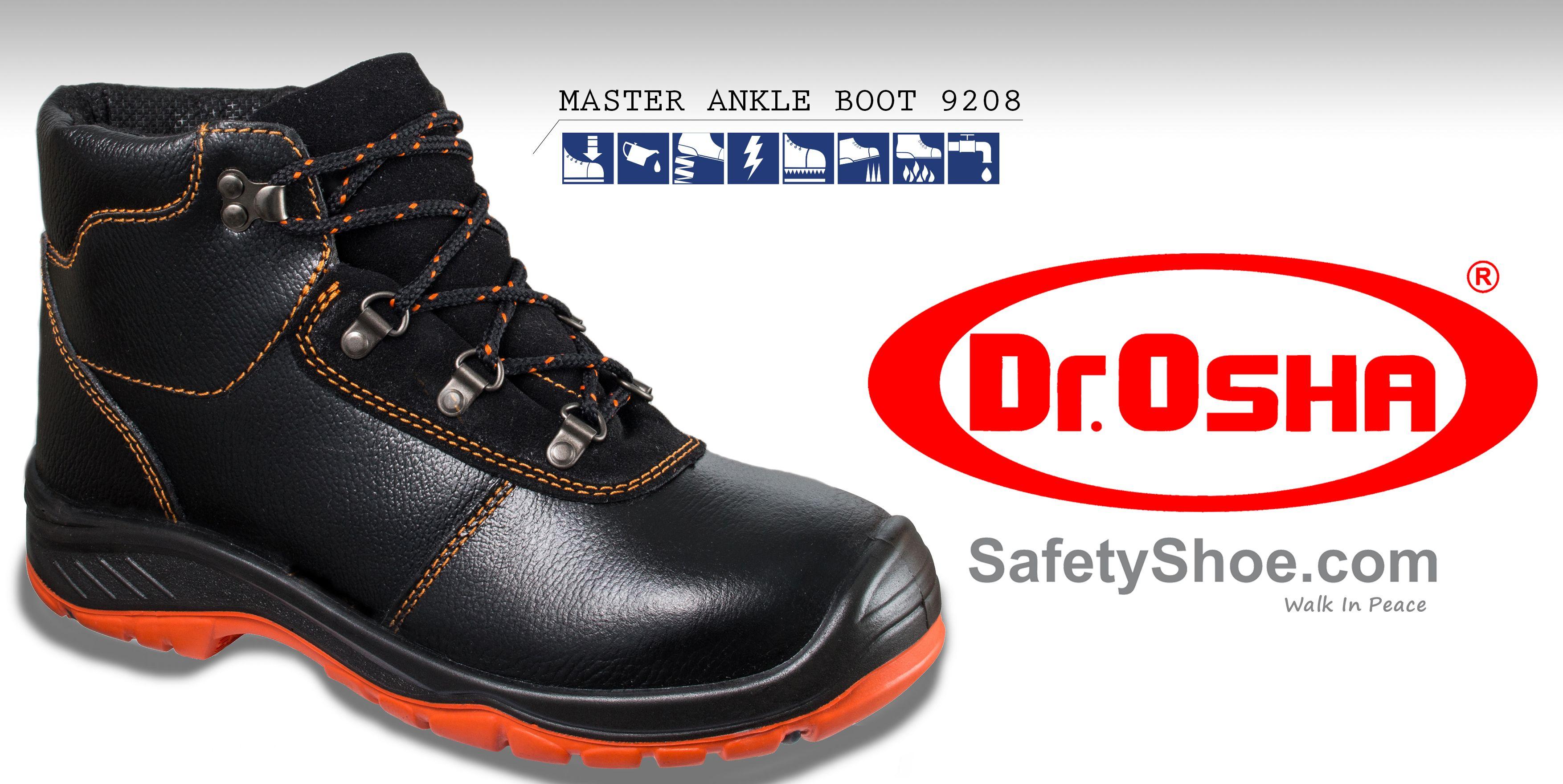 Dr Osha Safety Shoes Hero Straps 3188 Black Update Daftar Harga Cheetah 7106ha Pin By Safetyfootwearco On Sepatu Drosha Commando Ankle Boot