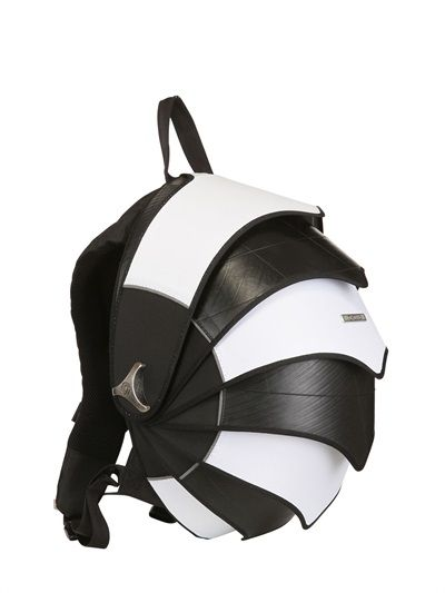 CYCLUS - LIMIT.ED B W RECYCLED PANGOLIN BACKPACK - LUISAVIAROMA - Coolest  backpack ever. 4fa012c39f