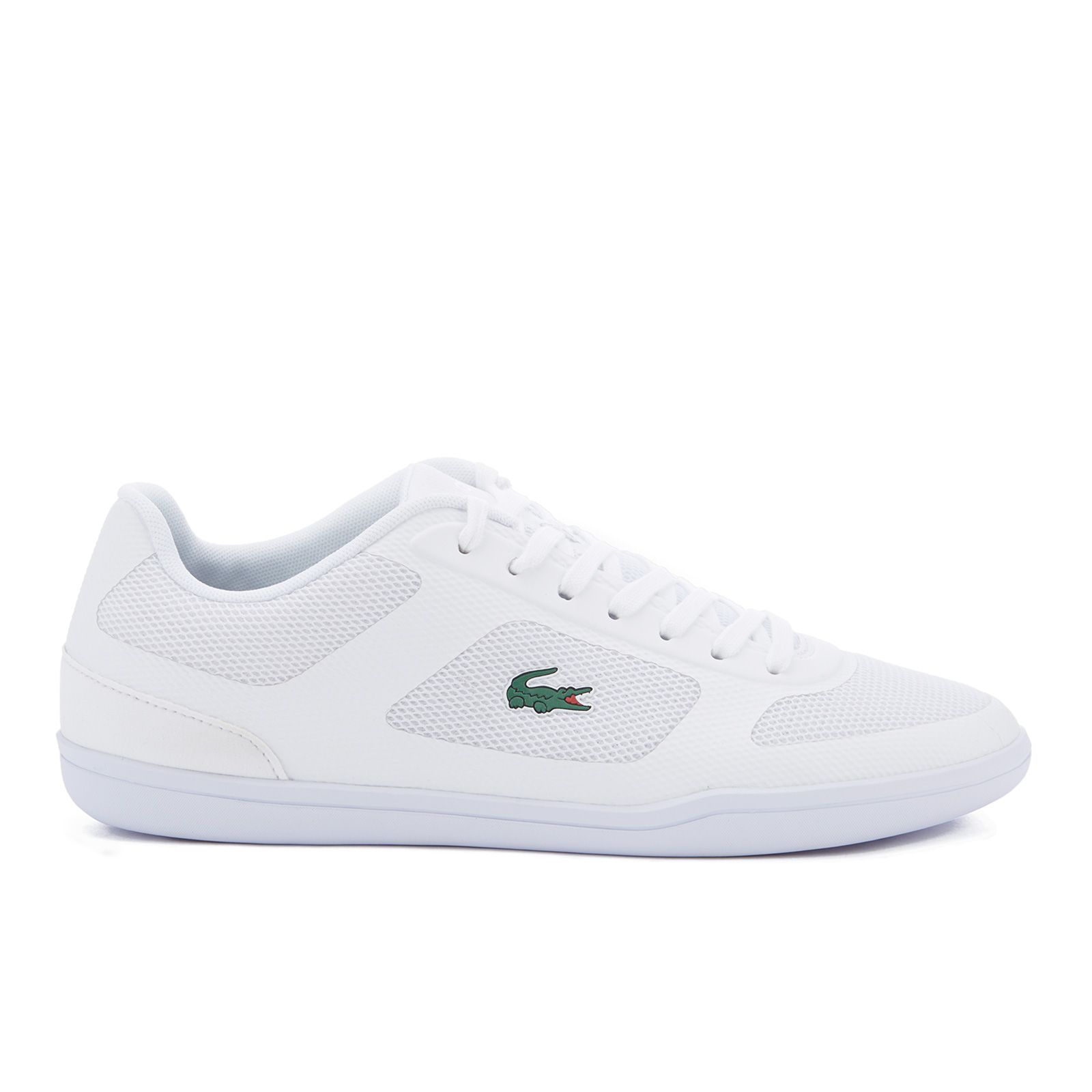 4fe3cbc90bba96 Lacoste Men s Court-Minimal Sport 316 1 Trainers - White Clothing - FREE UK  Delivery