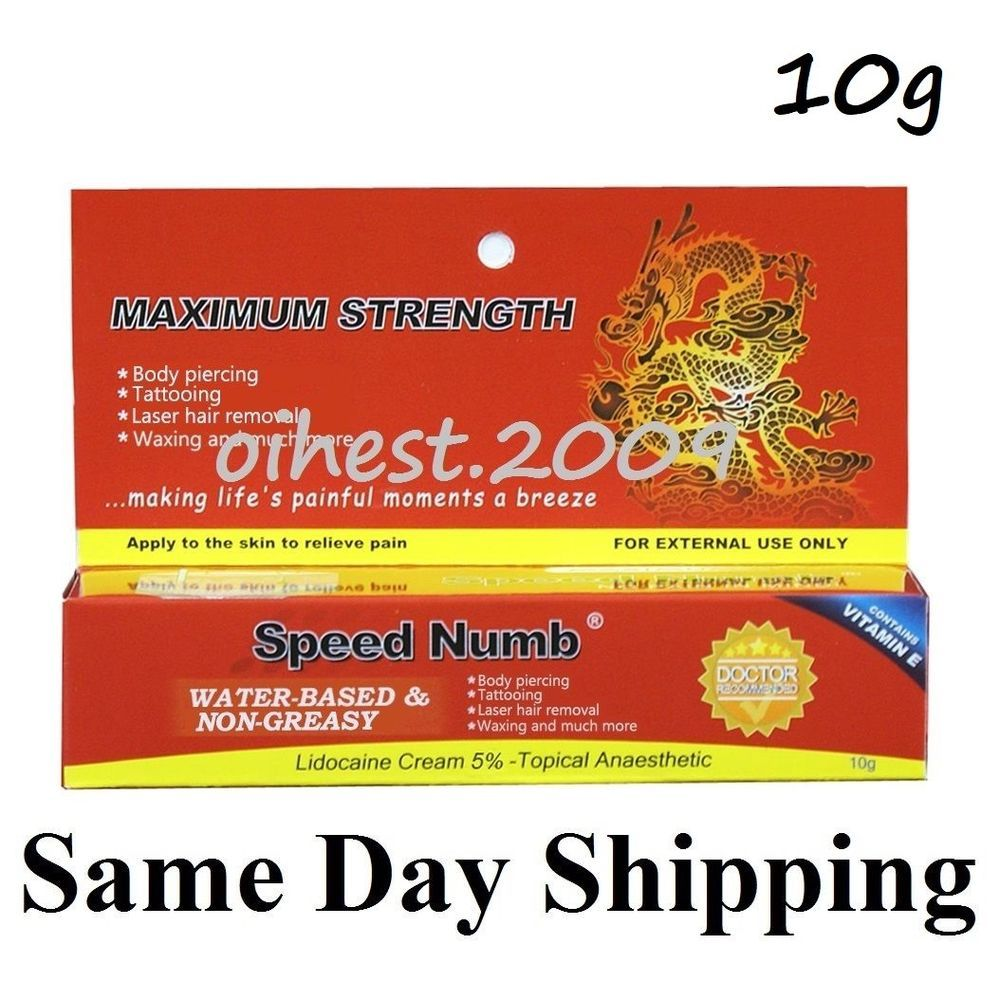 10g speed numb tattoo numbing cream usa seller same day