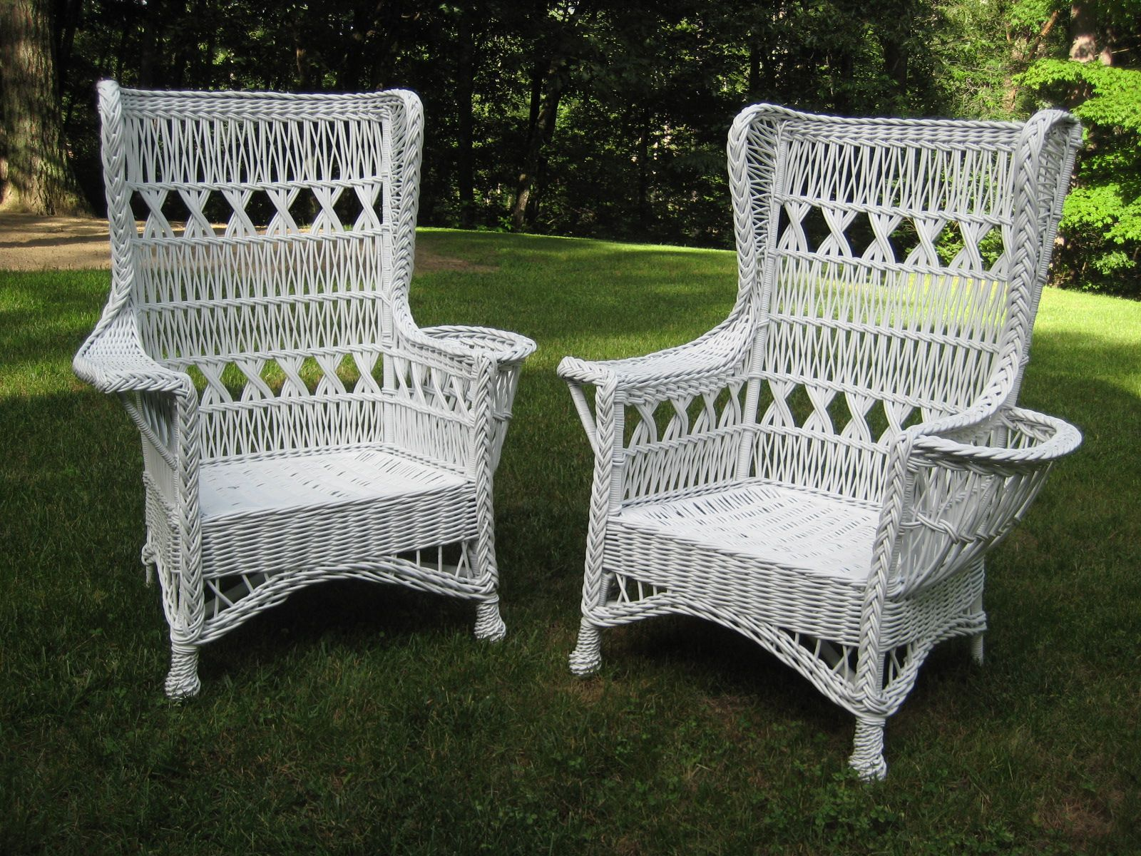My Venue For Sharing Over 20 Years Of Experience In American Antique Wicker  Furniture