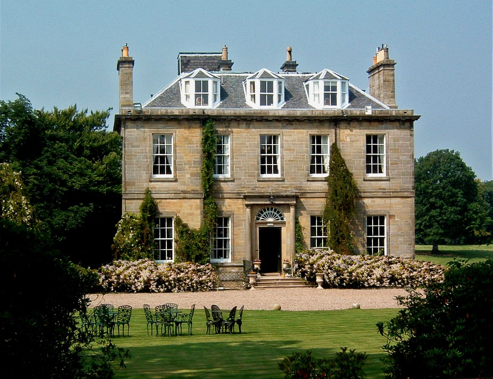 Harburn House Wedding Venue In Scotland Cars Available From Devere Chauffeur Drive Edinburgh