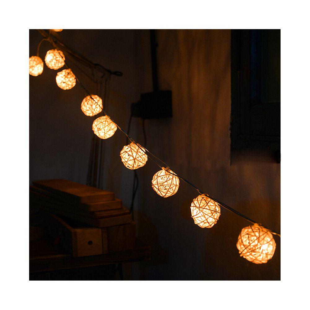 Decorative Light Balls Charisma Dress Rattan Ball Led Christmas String Lights Christmas