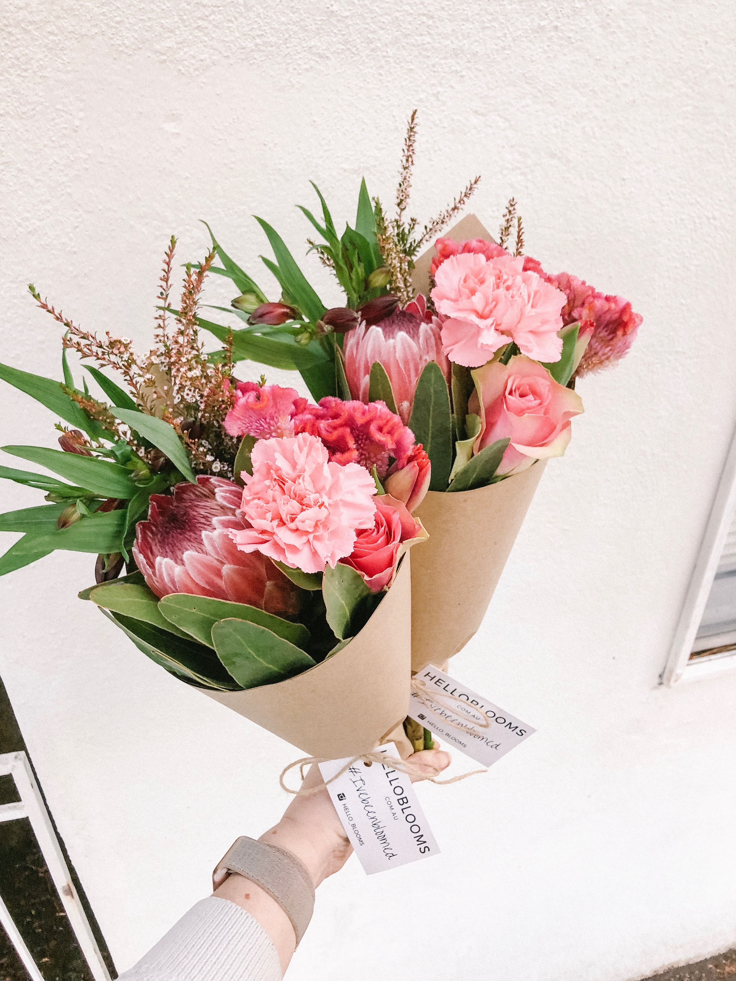 Melbourne Flower Delivery. This posy includes a stunning